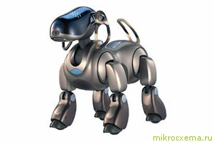 Собачка Aibo (Artificial Intelligence RoBOt) от «Sony»